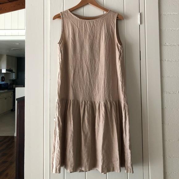 Linenfox smock dress
